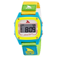 Freestyle FS84862 Women's Shark Clip Grey Digital Dial Canvas Strap Chronograph Alarm Watch