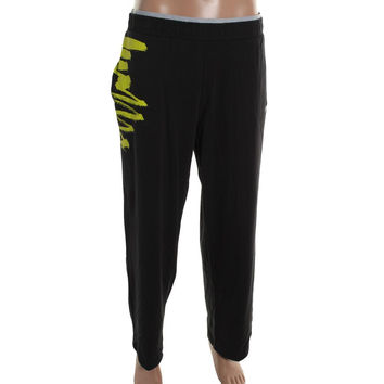 Zumba Womens Gotta Jam Jersey Printed Athletic Pants