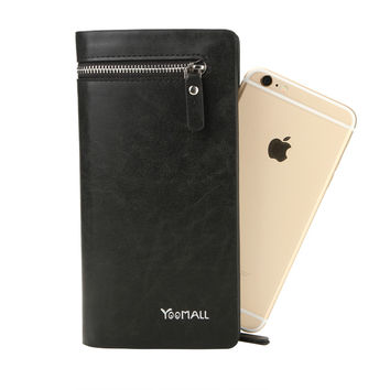 Leather Wallet Phone Case | Apple/Samsung