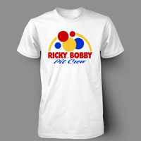 Ricky Bobby  talladega nights will ferrell snl nascar racing wonder funny daytona beer tee t-shirt