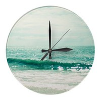 Sea of Tranquility Clocks from Zazzle.com