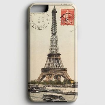 Eiffel Tower Paris Postcard iPhone 6 Plus/6S Plus Case | casescraft