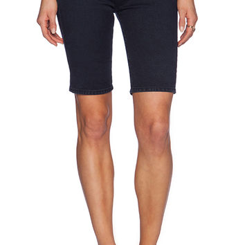 AG Adriano Goldschmied x Alexa Chung The Camille Short in Navy