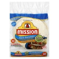Mission Carb Balance Flour Tortillas 10 ct
