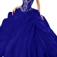 Gorgeous Bridal Long Mermaid Embroidery Evening Gown Custom Prom Dress