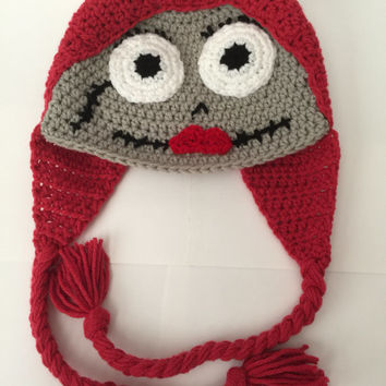 Sally - Nightmare Before Christmas -  Hat/ Beanie  - All Sizes