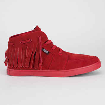 Famous Stars & Straps Fsas X Yelawolf Bama Chukka Mens Shoes Red  In Sizes