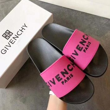 Givenchy Fashion Women Men Slipper Sandals Shoes