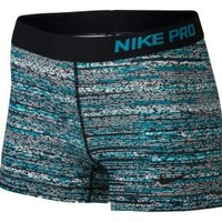 Nike Women's 3'' Pro Static Printed Shorts| DICK'S Sporting Goods
