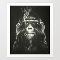 Smoke 'Em If You Got 'Em Art Print by Dr. Lukas Brezak