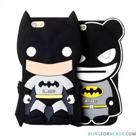 Cute Batman Silicone Case - iPhone 6