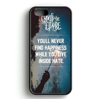 Crown The Empire Quote iPhone 5   5S Case