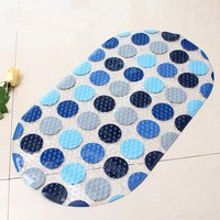New Anti-slip PVC Bath Mat Bathroom Safety Non-slip Carpet Bath Shower Floor Cushion Rug Bathmat Floor Mat #236847