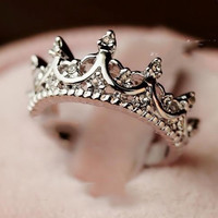Queen Silver Ring | Princess Essentials