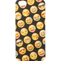 Emoji Faces Anti Shock iPhone 5/5S Case