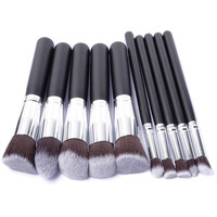 Professional makeup artist nail technician necessary 10 pcs Professional Makeup Brushes Tools Foundation Brush Kits