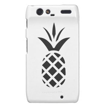 Black Pine Apple Motorola Droid RAZR Case