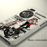 Michael Clifford Ash Unpredictable 5 Seconds of Summer Phone Case Back Cover for iPhone, iPod and Samsung Galaxy   Lealiveus.com