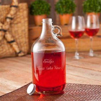 Wine Jug w/2 Wine Glasses