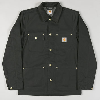 Carhartt Chore Coat Dearborn Canvas/12Oz Black Rigid
