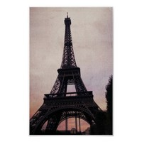 Vintage Paris Poster from Zazzle.com