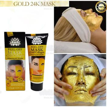24K Gold Anti Wrinkle Sleep Facial Mask