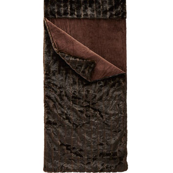 Fabulous Furs Faux-Fur Sleeping Bag