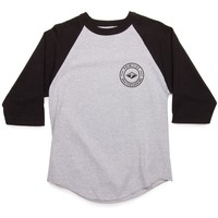 Primitive Apparel Core Seal Raglan T-Shirt - Athletic Heather/Black