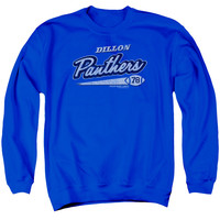 FRIDAY NIGHT LIGHTS/PANTHERS 78 - ADULT CREWNECK SWEATSHIRT - ROYAL BLUE - MD