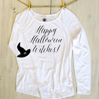 Happy Halloween Witches Top