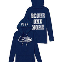 Seattle Seahawks Full-Zip Hoodie - PINK - Victoria's Secret
