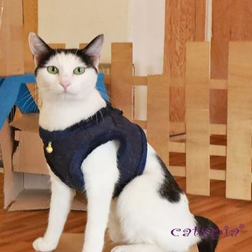 Castor Cat Harness by Catspia - Navy