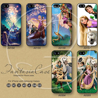 Phone Cases, iPhone 5 case, iPhone 5C Case, iPhone 5S case, Disney Tangled, iPhone 4S Case, Samsung Galaxy S3, Samsung Galaxy S4, FA0154