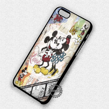 Minnie And Mickey Mouse - iPhone 7 6 Plus 5c 5s SE Cases & Covers