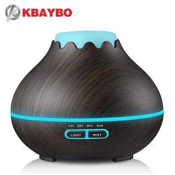 KBAYBO 400ml Humidifier Essential Oil Aromatherapy Electric Diffuser Mist Maker