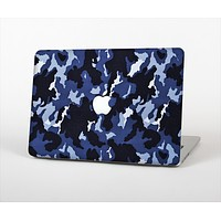 The Blue Vector Camo Skin Set for the Apple MacBook Air 11""