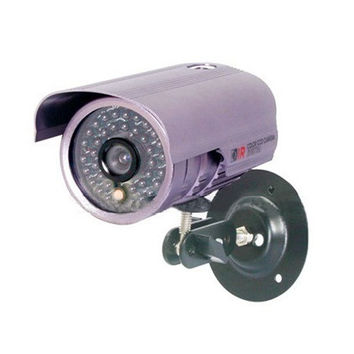 SYL-4002 PAL System 1/3 Sony Color CCD 36 IR LEDs 420TVL Water Resistant Night Vision Security Camera (Purple)