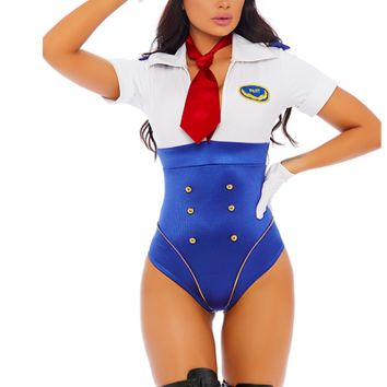 In Control Sexy Pilot Costume