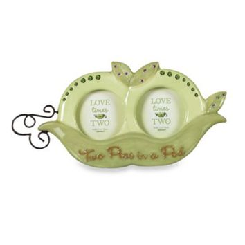 Grasslands Road® Two Peas in a Pod Photo Frame