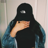 Baseball hat/cap men's and women's sport cap Black