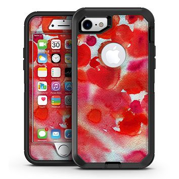 Love, Cupcakes, and Watercolor - iPhone 7 or 7 Plus OtterBox Defender Case Skin Decal Kit