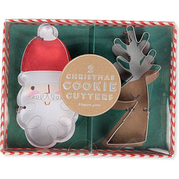 MERI MERI Jingle All the Way cookie cutters | selfridges.com