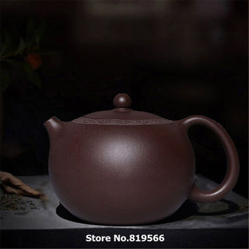 limited 188 Holes Handmade Yixing purple Clay Teapot 275ml Real Chinese Zisha Sand Kung fu Tea Set Classical Gift Xishi Pot