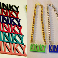 Kinky Chunky Chain Natural Hair Necklace
