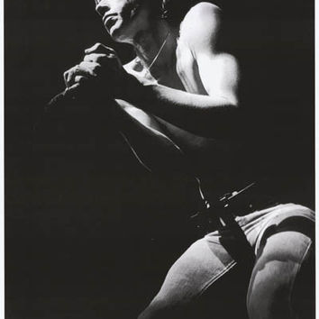 Iggy Pop Rainbow Theater London 1977 Poster 23x33