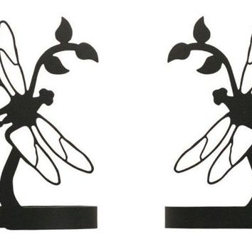Wrought Iron Dragonfly Curtain Tie Back -Set