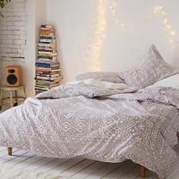 Louise Femme Medallion Duvet Cover | Urban Outfitters