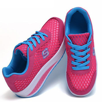 women running shoes swing platform trainers running shoes women zapatos mujer brand low top jogging running shoes boots sneakers