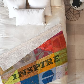 Elizabeth St Hilaire Nelson Inspire Fleece Throw Blanket