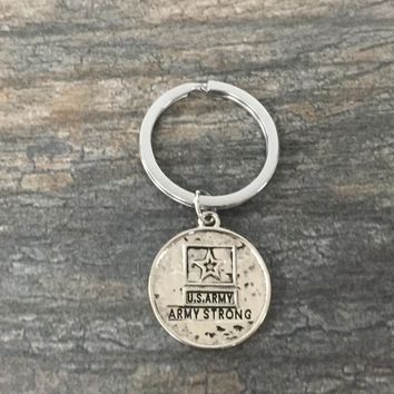 Army Strong Keychain